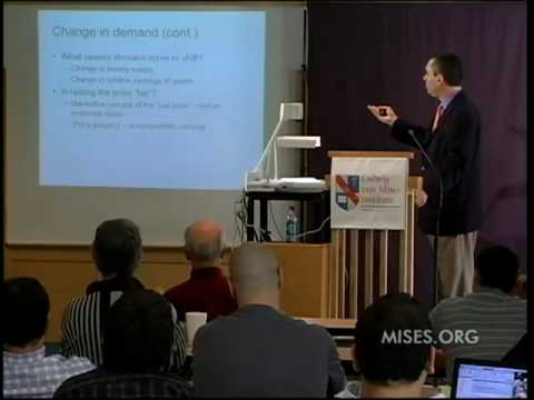 Fundamentals of Economic Analysis, Lecture 3: The Determination of Prices | Peter G. Klein