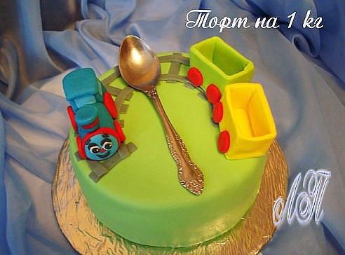 Ложка торт на заказ