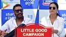 FULL Ajay Devgan and Kajol Devgan Kick Start Little Good Campaign in Mumbai