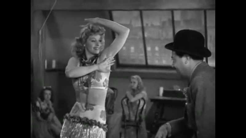 Lucille Ball Dancing the Hula -Yipe