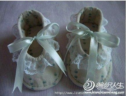 Шьем пинетки туфельки
