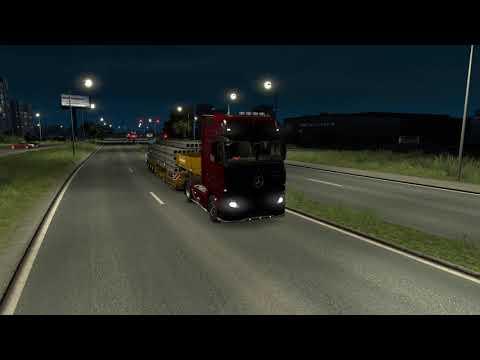 Euro Truck Simulator 2 Mercedes-Benz 620 л.с. ( 2 серия )