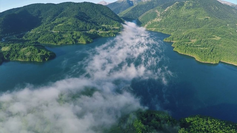 Με τα μάτια της Κοιμωμένης - Λίμνη Πλαστήρα / From dawn till dusk - Plastiras La