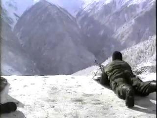 О Чеченских боевиках .Разведбат атакует в горах.2003 год.