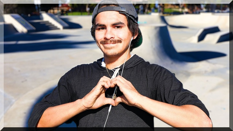 BRUTAL Skatepark SHREDDED By Carlos!