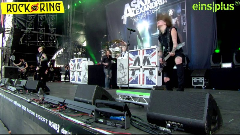 Asking Alexandria - Welcome Closure (Live @ Rock am Ring 2013 07.06)