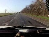 Авария на трассе Донецк - Мариуполь (оторвались колеса на фуре)