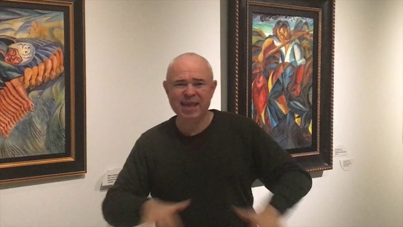 Анонс лекции Виктора Паленного Первый русский футурист – Давид Бурлюк