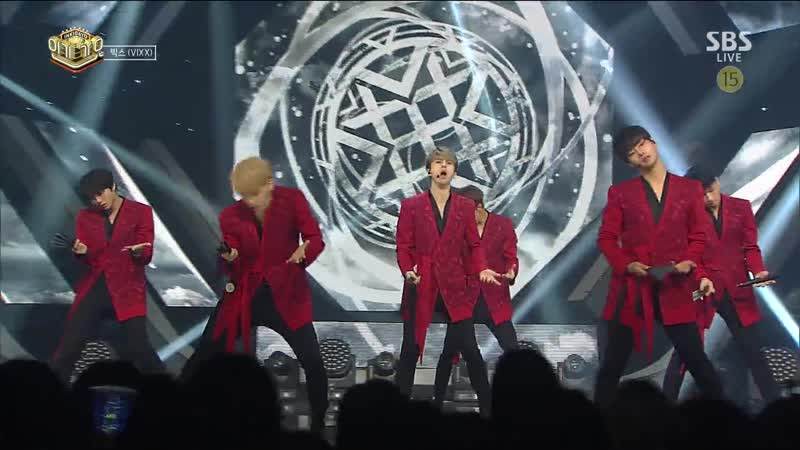 VIXX - Shangri-La (Inkigayo 20170604)