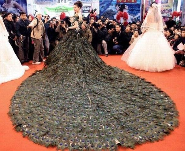 Самые необычные свадебные платья