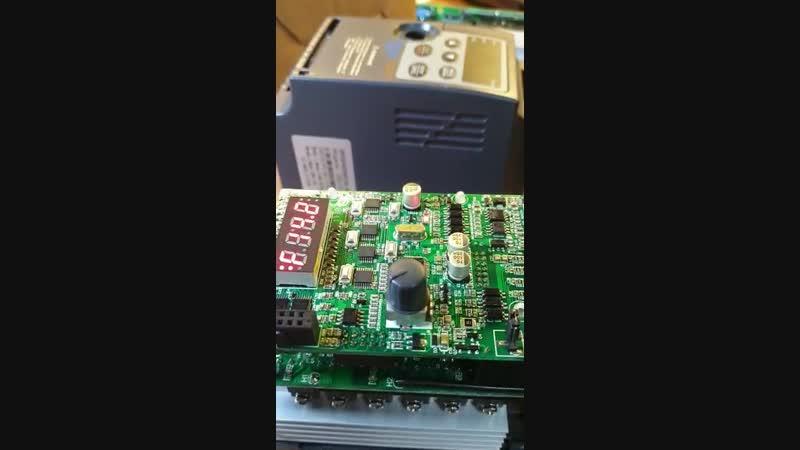 КИПлаб ремонт преобразователя частоты Innovert