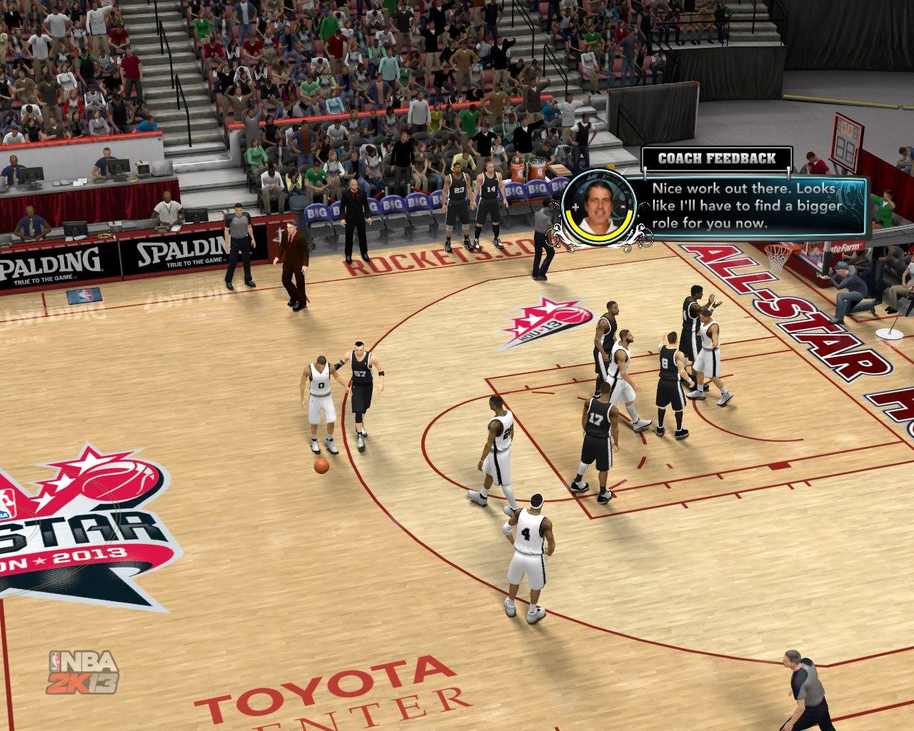 НБА2К13 скриншоты