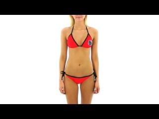 Hello Kitty Junior's Triangle Bikini Set | SwimOutlet.com