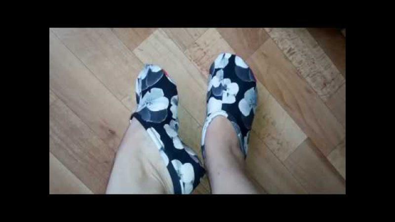 Как сшить тапочки -носочки