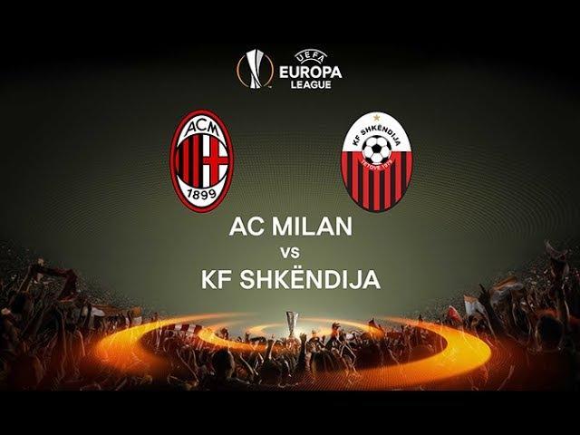 Милан — Шкендия Гол Антонелли 5-0 Лига Европы УЕФА 4-й кв.раунд (17.08.2017)