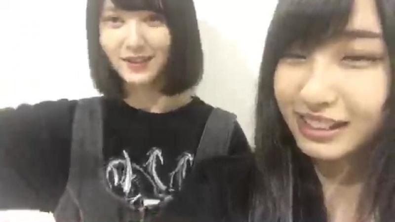 20180609 @ SHOWROOM Oki Yuuka cut 2