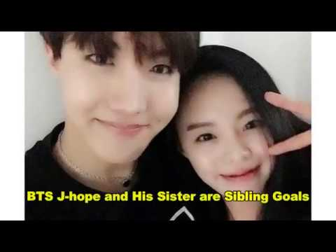 BTS J-hope and His Sister are Sibling Goals