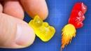 🔥 Ракетное топливо из желейных мишек арахиса или жевательных резинок возможно ли