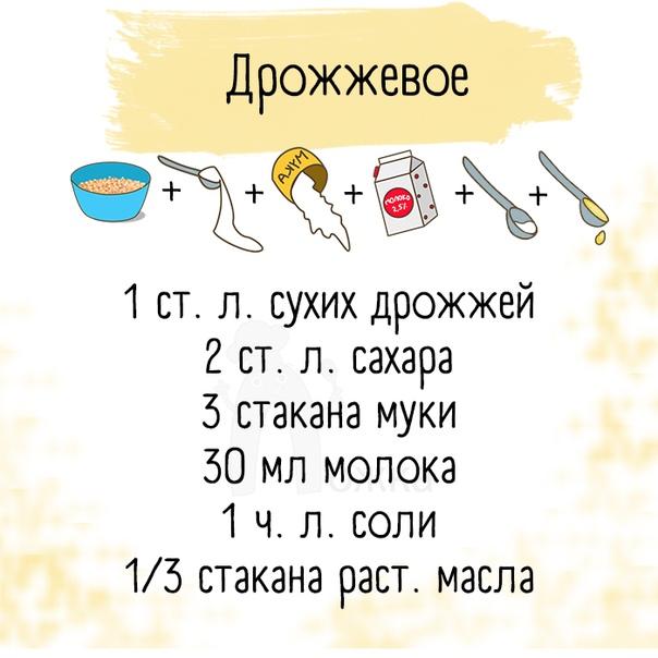 5 проверенных рецептов вкусного теста вы, кстати, какое чаще готовите