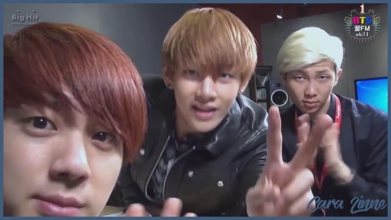 [Озвучка by Cara Linne]День Рождения BTS   [BTS 꿀 FM 06.13] 1st BTS birthday 'BTS FESTA 2014'