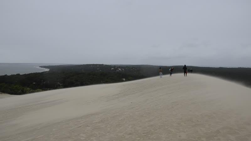 Франция Аркашон. Большая песчаная дюна Пила Great Dune of Pilat