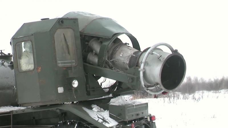 Военнослужащие бригады РХБЗ Западного военного округа на учении в Курской области ликвидируют последствия условного химического