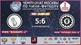 НМФЛ. Высшая лига ЗАО. МФК Торпедо-1924-д - МФК Вэнкерс-2 65