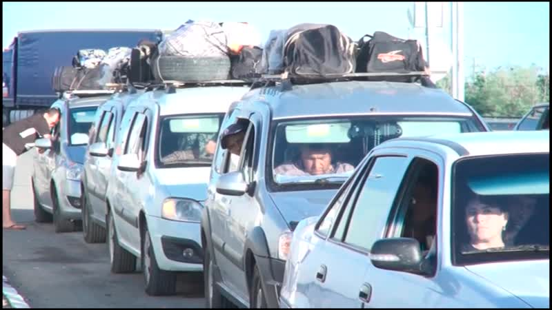 Через Казахстанский КПП Жайсан проходят сотни тысяч мигрантов