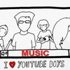 I LOVE YOUTUBE BOYS (MUSIC)