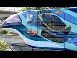 Disneyland Monorail Pixar Fest Themed Monorails Featuring The Incredibles &amp Finding Nemo