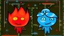 Приключение Огонь и Вода в Лесном Храме 4 Мультик игра для детей. Games for kids.
