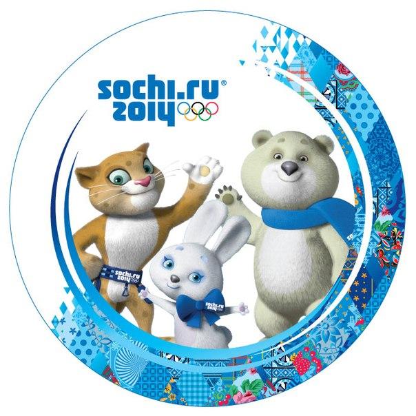 Символика XXII Зимних Олимпийских игр в Сочи: талисманы и эмблема