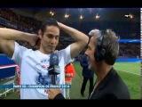Le PSG champion de France 2013/2014 - немного празднования чемпионства после матча (пока в плохом качестве, завтра добавим в хорошем)