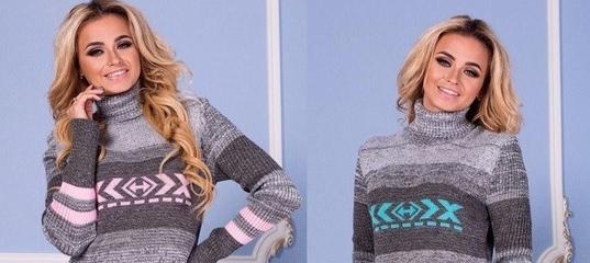 3c304fdba73 Купить Женское теплое вязаное платье до колен в Одессе от компании