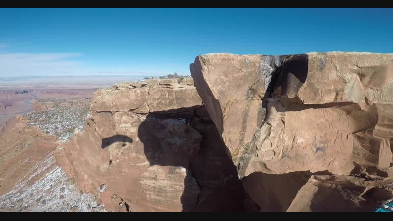 Ridge Soaring Base Jumper