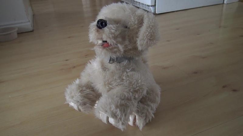 ДЖОРДЖИ - УМНАЯ СОБАКА Interactive Plush Electronic Puppy
