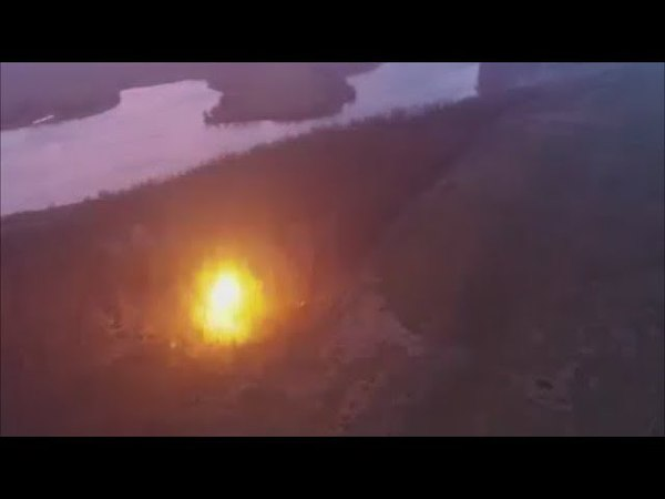 Уничтожение опорного пункта Прыщ российских боевиков вблизи Светлодарска Донбасс