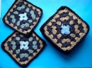 Уроки вязания Crochet and knitting. Секреты вязание мотивов крючком....Видео:  1.Вязание крючком