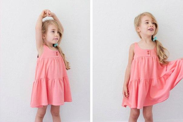 Мастер-класс платья для девочки (9 фото)