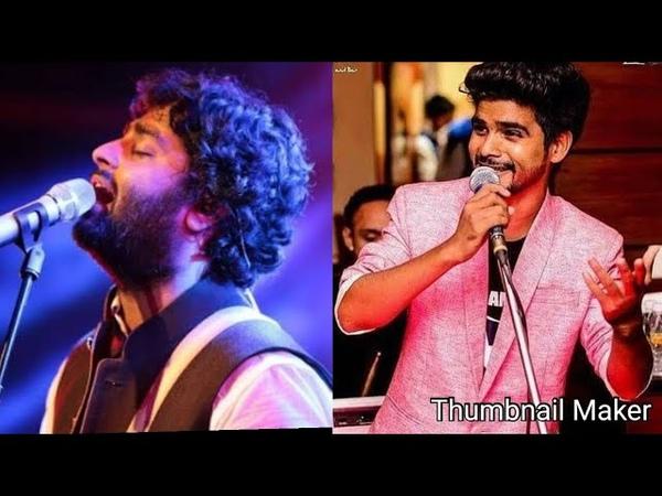 Arjit singh and indian idol salman ali Chunar song