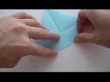 Птица оригами | Игрушки из бумаги