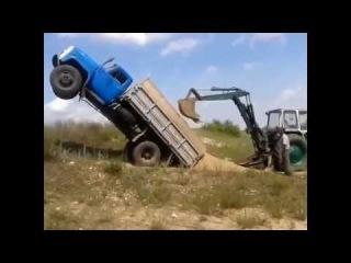 приколы с грузовиками ОТПАД