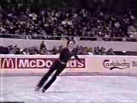 Brian Orser 1985 Worlds EX Pink Panther