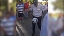 Ростовский полицейский показал иностранным болельщикам класс владения мячом