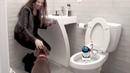 Giddel Toilet Cleaning Robot has Collision Avoidance Technology making Giddel Safe for Kids Pets