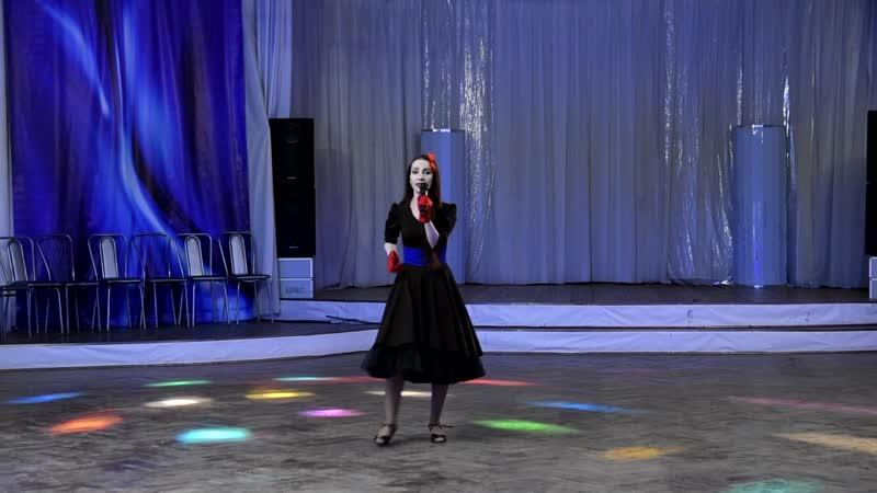 Песня Грею счастье в исполнении Ани Князевой на вечеринке в честь Дня рождении студии танцев Капелия