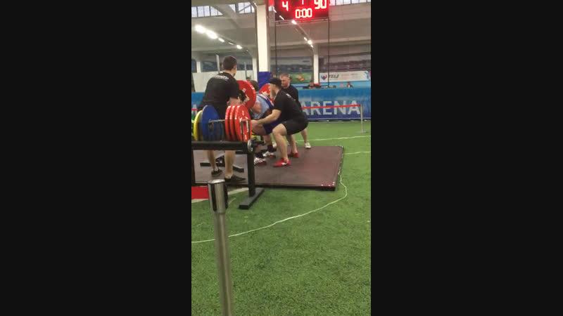 Zalov Pavel Squat 230kg@101kg