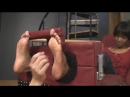 Ebony Jewelz Foot Tickled