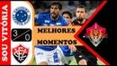 Cruzeiro 3 x 0 Vitória - Gols Melhores Momentos - Brasileirão Série A 2018