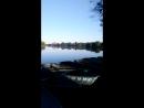 Измайловский парк в золотой час